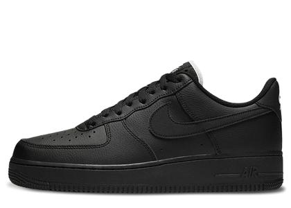 Nike Air Force 1 Low Triple Black (White Tongue)の写真
