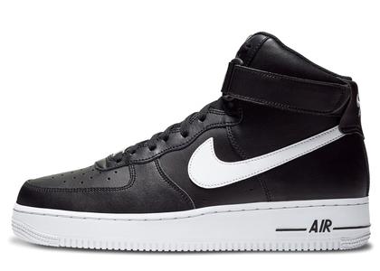 Nike Air Force 1 High Black White (2020)の写真