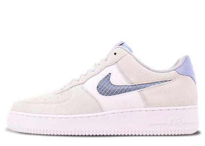 Nike Air Force 1 Low Pure Platinum Indigo Fogの写真