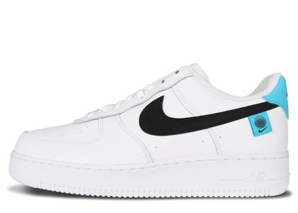 Nike Air Force 1 Low Worldwide White Blue Fury Blackの写真