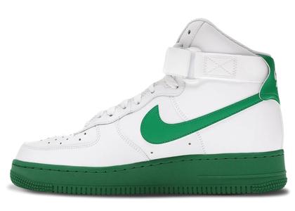 Nike Air Force 1 High White Green Midsoleの写真
