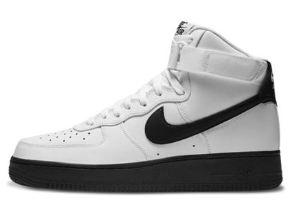 Nike Air Force 1 High White Black Midsoleの写真