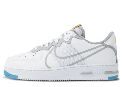 Nike Air Force 1 React Light Smoke Greyの写真