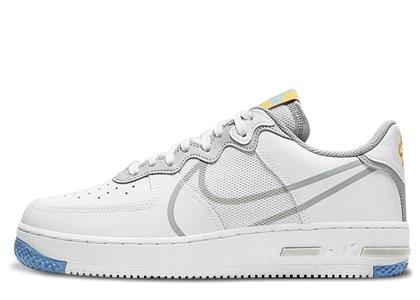 Nike Air Force 1 Low React White Light Smoke Greyの写真