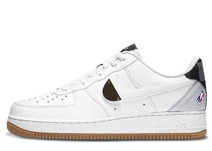Nike Air Force 1 Low NBA White Grey Gumの写真