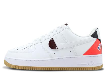 Nike Air Force 1 Low NBA White Crimson Gumの写真
