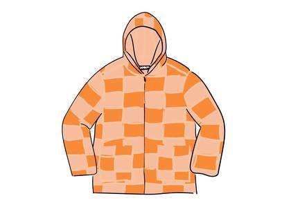 Supreme Faux Suede Patchwork Hooded Jacket Tanの写真