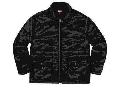 Supreme Quilted Cordura Lined Jacket Blackの写真