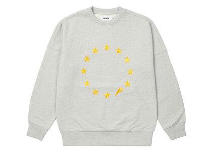 Palace EU-Don Crew Grey Marl (FW21)の写真