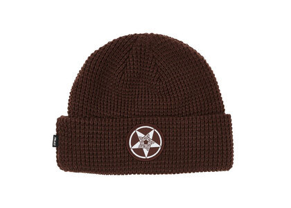 Palace Calm It Mosher Beanie Brown (FW21)の写真