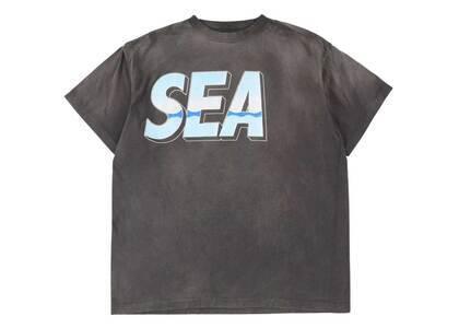 SAINT MXXXXXX × Wind And Sea SS Tee Blackの写真