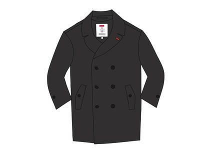 Supreme Military Trench Coat Blackの写真