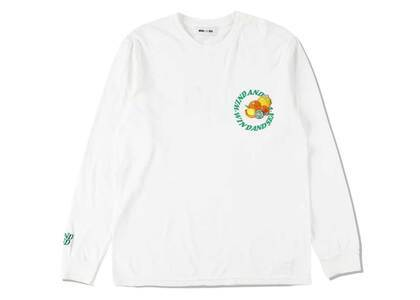 SAINT MXXXXXX × Wind And Sea J.Fresh Circle L/S T Shirt White Freshの写真
