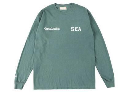 SAINT MXXXXXX × Wind And Sea League L/S T Shirt Greenの写真