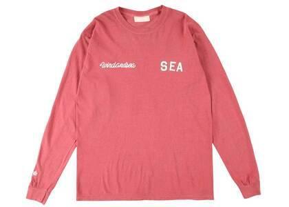 SAINT MXXXXXX × Wind And Sea League L/S T Shirt Crimsonの写真