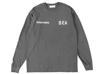 SAINT MXXXXXX × Wind And Sea League L/S T Shirt Charcoalの写真