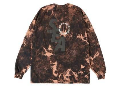 SAINT MXXXXXX × Wind And Sea S_E_A Bleached L/S T Shirt Black Bleachの写真