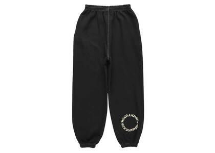 SAINT MXXXXXX × Wind And Sea Circle Sweat Pants Blackの写真