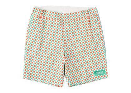 SAINT MXXXXXX × Wind And Sea D.T.R.T Plaid Shorts Nacho Plaidの写真
