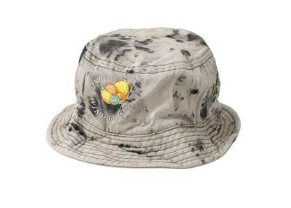 SAINT MXXXXXX × Wind And Sea J.Fresh Circle Bleached Denim Bucket Hat Blackの写真