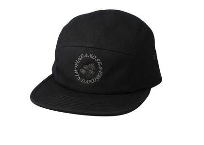 SAINT MXXXXXX × Wind And Sea J.Fresh Circle Camper Cap Blackの写真