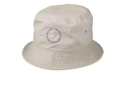 SAINT MXXXXXX × Wind And Sea Circle Bucket Hat Beigeの写真