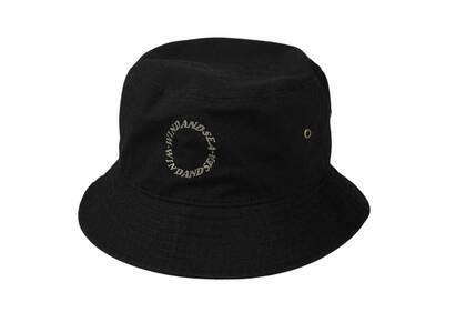 SAINT MXXXXXX × Wind And Sea Circle Bucket Hat Blackの写真