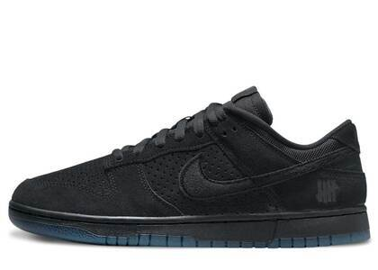 Undefeated × Nike Dunk Low SP Blackの写真