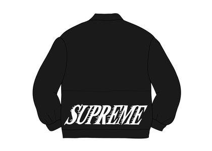 Supreme Twill Varsity Varsity Jacket Blackの写真