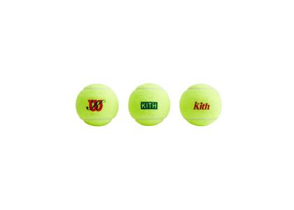 Kith for Wilson Regular Duty Tennis Balls Rayの写真