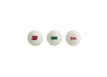 Kith for Wilson Regular Duty Tennis Balls Whiteの写真