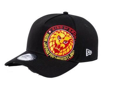 New Era 9FORTY A-Frame Shin Nihon Pro-Wrestling Lion Mark Battalion Black/Redの写真