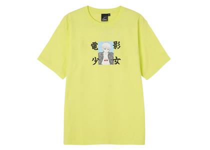X-girl × Katsura Masakazu Denei Shojyo S/S Tee Yellowの写真
