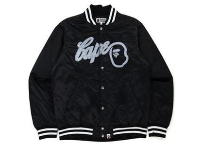 Bape Baseball Jacket Black (FW21)の写真