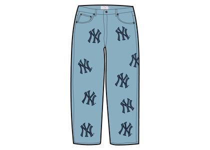 Supreme New York Yankees Regular Jean Blue (FW21)の写真