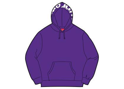 Supreme Contrast Hooded Sweatshirt Purple (FW21)の写真