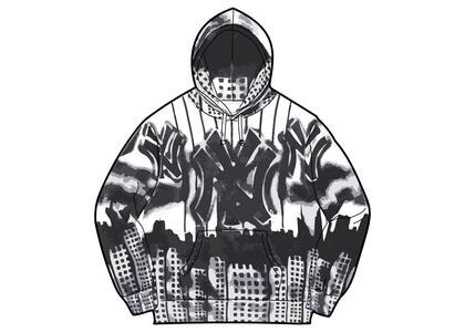 Supreme New York Yankees Airbrush Hooded Sweatshirt White (FW21)の写真