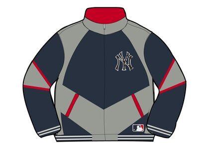 Supreme New York Yankees Track Jacket Navy (FW21)の写真