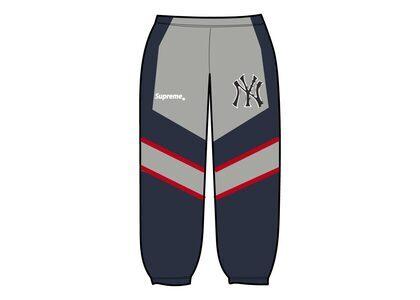 Supreme New York Yankees Track Pant Navy (FW21)の写真