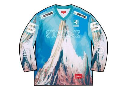 Supreme Mountain Hockey Jersey Light Blue (FW21)の写真