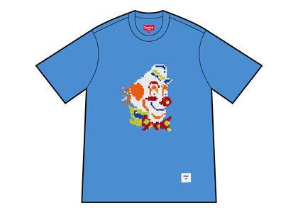 Supreme Clown Sequin S/S Top Blue (FW21)の写真