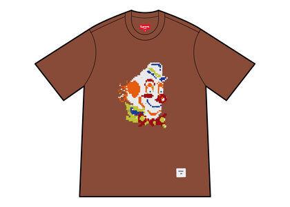 Supreme Clown Sequin S/S Top Brown (FW21)の写真