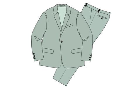 Supreme Wool Suit Slateの写真