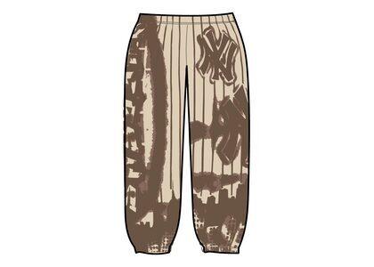 Supreme New York Yankees Airbrush Sweatpant Brown (FW21)の写真