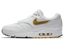 "NIKE AIR MAX 90/1 ""WHITE/METALLIC GOLD""の写真"
