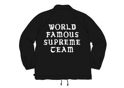 Supreme World Famous Coaches Jacket Blackの写真