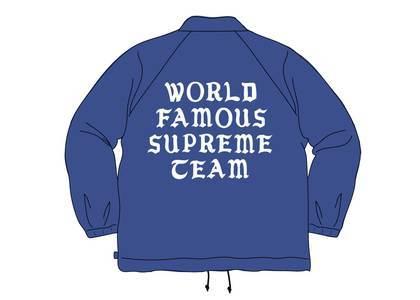 Supreme World Famous Coaches Jacket Dark Royalの写真