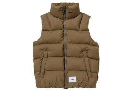 Wtaps Bivouac Vest Poly Taffeta Limonta Brownの写真