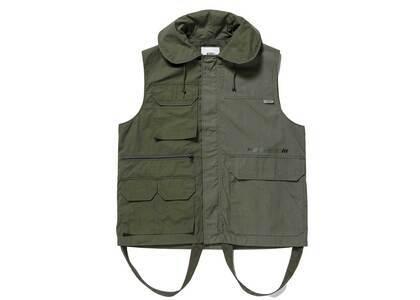 Wtaps Trader Vest Cotton Weather Ripstop Olive Drabの写真