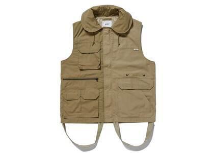 Wtaps Trader Vest Cotton Weather Ripstop Beigeの写真